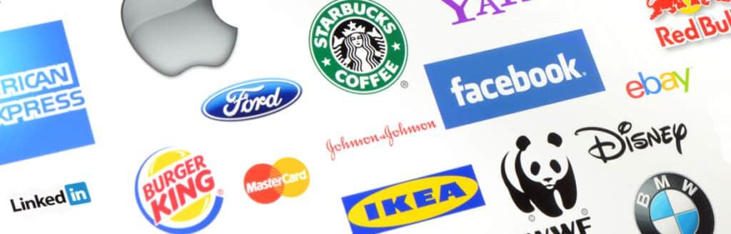 banner showing several brand logos