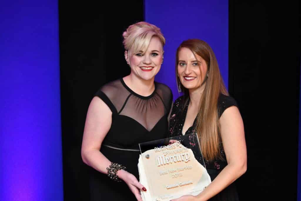 anna morrish accepting quibble award 2019