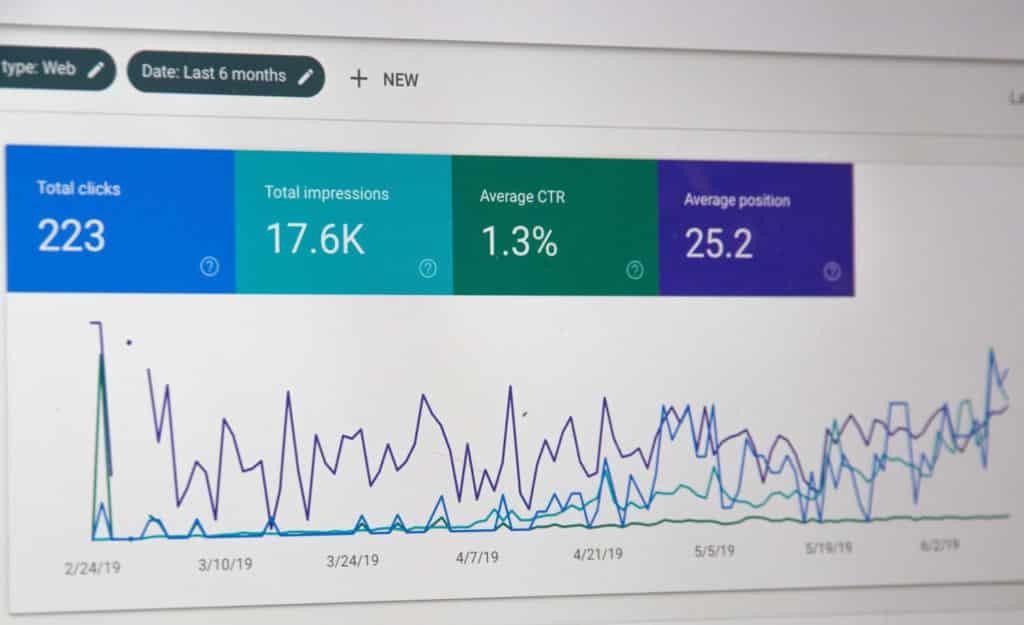 google search console statistics